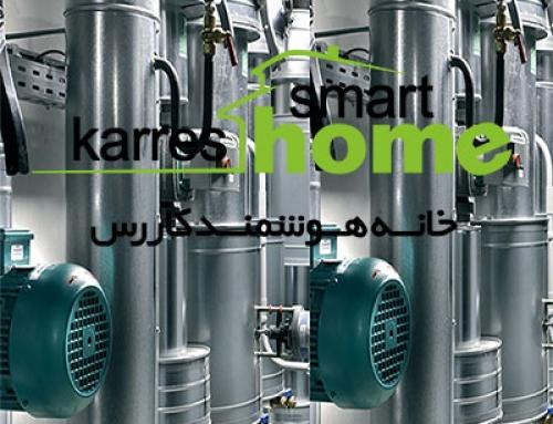 موتور خانه هوشمند در ساختمان هوشمند